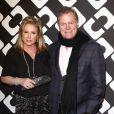 """Kathy Hilton et Rick Hilton au vernissage de l'exposition """"Journey of a Dress"""" consacrée à la créatrice Diane Von Furstenberg, à Los Angeles le 10 janvier 2014."""