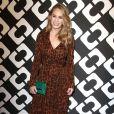 """Dylan Penn au vernissage de l'exposition """"Journey of a Dress"""" consacrée à la créatrice Diane Von Furstenberg, à Los Angeles le 10 janvier 2014."""