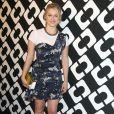"""Leven Rambin au vernissage de l'exposition """"Journey of a Dress"""" consacrée à la créatrice Diane Von Furstenberg, à Los Angeles le 10 janvier 2014."""