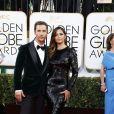 Matthew McConaughey et Camila Alves lors de la 71e cérémonie des Golden Globes à Beverly Hills le 12 janvier 2014.