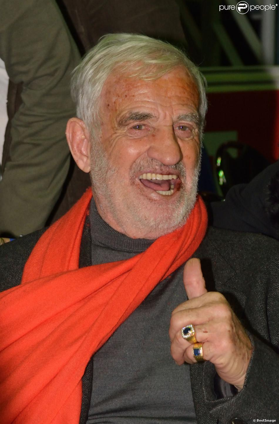 Jean-Paul Belmondo assiste au
