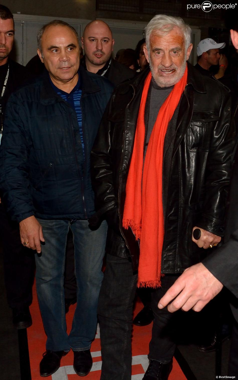 Jean-Paul Belmondo au match de