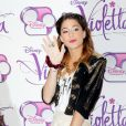Martina Stoessel, de la série Violetta, à Rome (Italie), le lundi 13 janvier 2014.