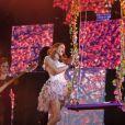 Violetta en concert. Personnage interprété par la comédienne et chanteuse Martina Stoessel.