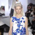 Image du défilé haute couture Giambattista Valli printemps-été 2014 le 20 janvier 2014 lors de la Fashion Week à Paris.