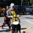 Justin Bieber à Miami, le 22 janvier 2014. Le chanteur a récemment dépensé plus de 75000 dollars à l'anniversaire de son ami le rappeur Lil Scrappy.