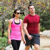 Lea Michele : Inséparable de Jonathan Groff, elle rayonne