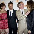 """Jennifer Garner, Matthew McConaughey, Jean-Marc Vallée et Jared Leto au Toronto International Film Festival le 7 septembre 2013."""