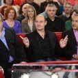 EXCLU - Didier Bourdon, Bernard Campan et Pascal Legitimus lors de l'enregistrement de l'émission Vivement Dimanche à Paris le 29 janvier 2013. L'émission sera diffusée le 2 février
