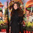 """Caterina Murino lors de l'avant-première du film """"L'île des Miam-nimaux : Tempête de boulettes géantes 2"""" au à Paris, le 2 février 2014"""