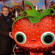"""Antoine de Caunes lors de l'avant-première du film """"L'île des Miam-nimaux : Tempête de boulettes géantes 2"""" au à Paris, le 2 février 2014"""