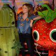 """Pauline Lefèvre lors de l'avant-première du film """"L'île des Miam-nimaux : Tempête de boulettes géantes 2"""" au à Paris, le 2 février 2014"""