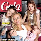 Élodie Gossuin présente ses 4 beaux enfants : ''Je pèse 15 kilos de plus''