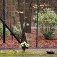La sépulture du prince Friso des Pays-Bas, fils de la princesse Beatrix, au cimetière de Lage Vuursche, aux Pays-Bas. Photo prise le 1er fevrier 2014.