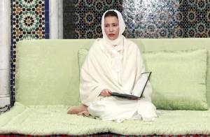 Lalla Meryem, Mohammed VI, Moulay El Hassan recueillis à la mémoire de Hassan II