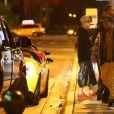 Exclusif - Justin Bieber fait la fête à Miami, le 22 janvier 2014, quelques heures avant son arrestation.