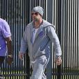 Jeremy Bieber, le père de Justin Bieber, arrive à la prison de Miami pour en sortir le jeune chanteur, le 23 janvier 2014.