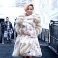 Mary J. Blige lors de la Mercedes Benz Fashion Week à New York, le 10 février 2014.