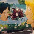 """Image du clip """"Love Letters"""" de Metronomy, février 2014."""