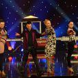 """Exclusif - Enregistrement de l'émission """"Le Plus Grand cabaret du monde"""" à Paris le 11 février 2014. Diffusion le 29 mars 2014."""