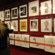 Collection Pin Up d'Aslan présentées lors d'une vente aux enchères à l'Hotel Drouot à Paris, le 14 mars 2008. Le dessinateur est mort au Canada à l'âge de 83 ans le 11 février 2014