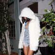 Rihanna lors d'une soirée à Los Angeles, le 11 février 2014.