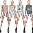 Le créature italien Roberto Cavalli a imaginé 6 tenues pour la tournée de Miley Cyrus, Bangerz Tour, prévue pour débuter le 14 février 2014.