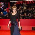 Valeria Golino lors de la cérémonie de clôture du 64e festival international du film de Berlin, La Berlinale, le 15 février 2014.