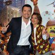 """Arnaud Ducret et Tal - Première du film """"La grande aventure Lego"""" au Gaumont Capucines à Paris. Le 16 février 2014 16/02/2014 - Paris"""