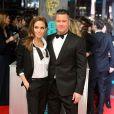 Anglina Jolie et Brad Pitt à la cérémonie des BAFTA Awards à Londres, le 16 février 2014.