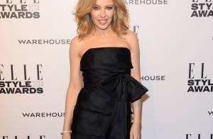 Kylie Minogue : Sexy en robe courte devant Katy Perry, femme de l'année