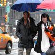 Vivica A Fox sur le tournage de Sharknado 2: The Second One à New York le 19 février 2014.