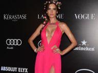Alessandra Ambrosio : Décolleté vertigineux pour son retour au Brésil