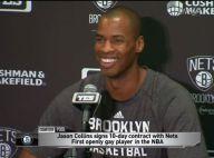 Jason Collins écrit l'histoire : Premier joueur ouvertement gay à jouer en NBA