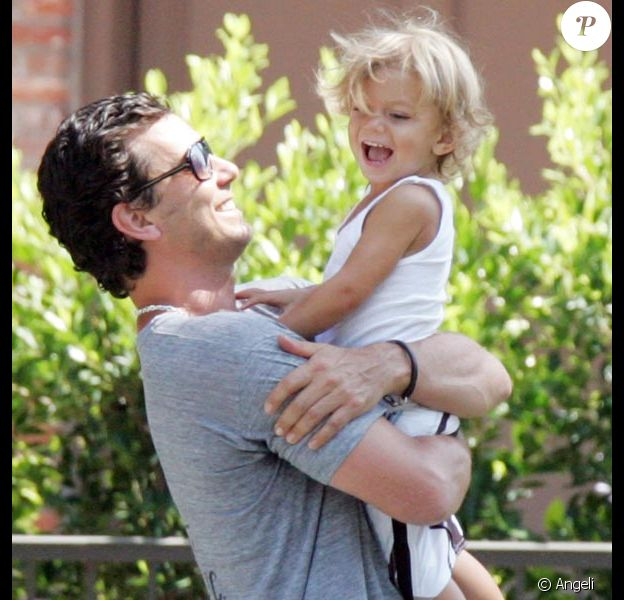 Gavin Rossdale et son fils Kingston