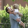 """Gavin Rossdale et son fils Kingston"""