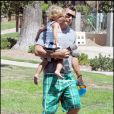 Gavin Rossdale et son fils Kingston