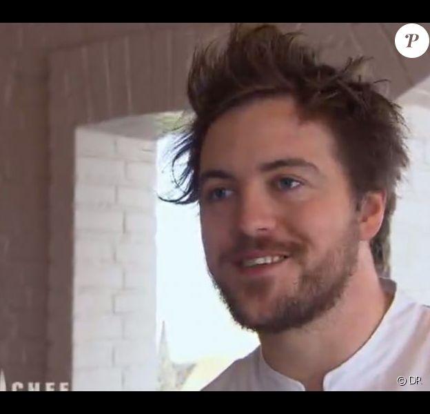 Lors de la finale de Top Chef 2013, diffusée lundi 29 avril, le finaliste Florent Ladeyn a dévoilé qu'il allait bientôt être papa.