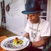 Jean Imbert a cuisiné pour Pharrell Williams... sa salade ''Alexandra'' !
