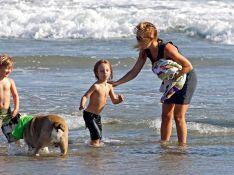 PHOTOS : Kate Hudson, sa maman, son frangin, son fils... tous à l'eau !