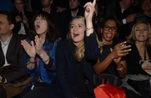 Daphné Bürki, Audrey Pulvar, Ophélie Meunier : Chic spectatrices du show Etam
