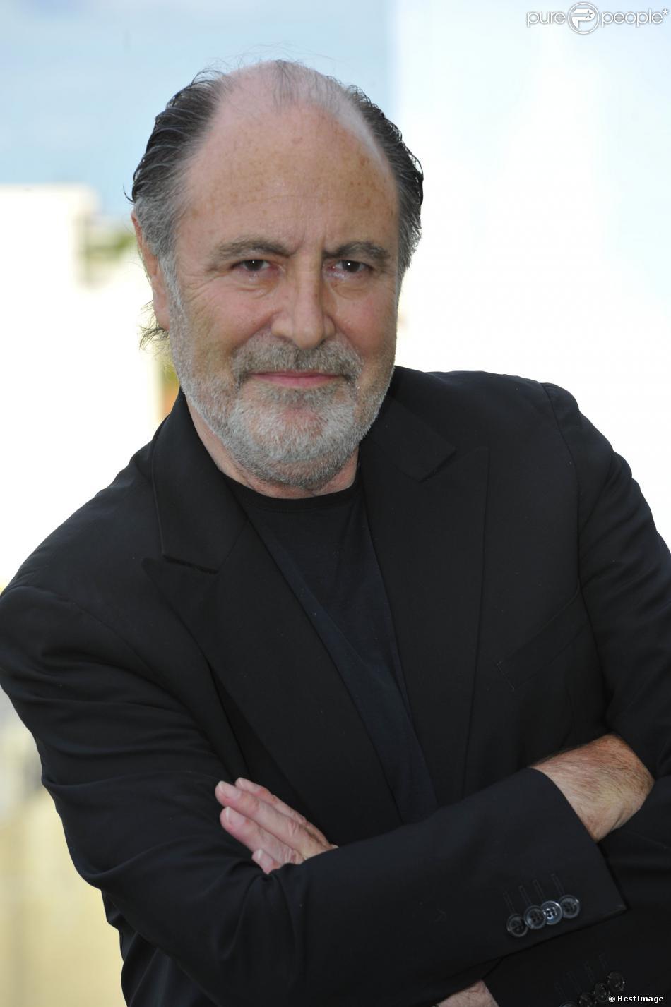 Michel Delpech au 5e Festival du film francophone d'Angoûleme, le 28 août 2012