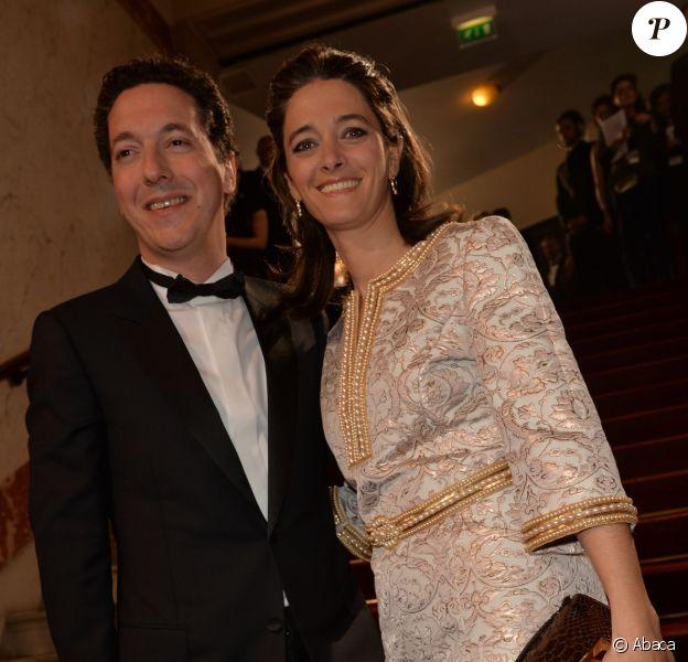Guillaume Gallienne et sa femme Amandine àla 39e cérémonie des César du Cinéma à Paris, le 28 février 2014.