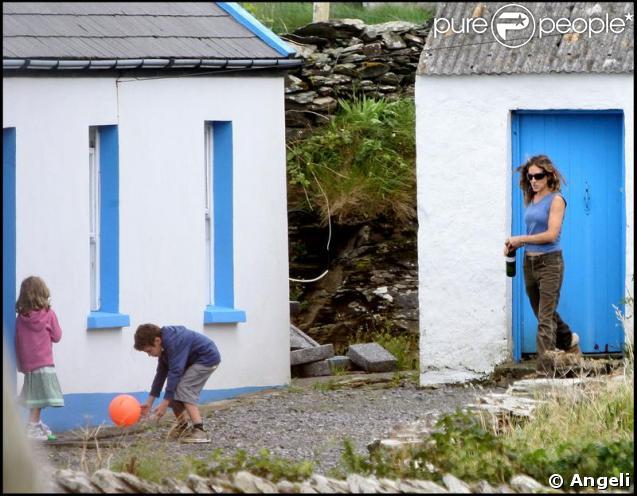 Sarah Jessica Parker dans un cotage irlandais