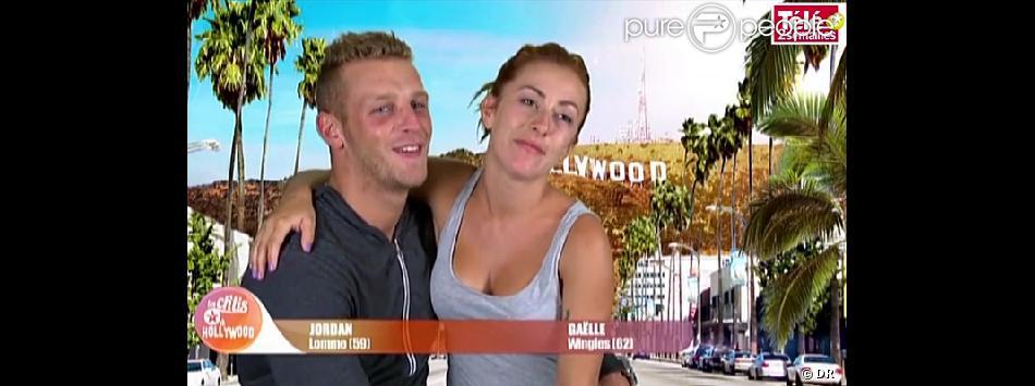 Gaëlle et Jordan des Ch'tis à Hollywood, en interview pour Télé 2 Semaines.