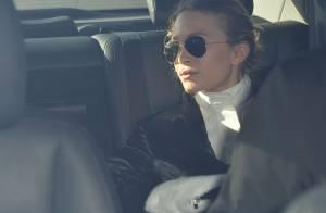 Mary-Kate Olsen : Grosse bague de fiançailles, en duo avec sa soeur pour Vuitton