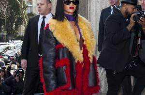Fashion Week : Rihanna, ultrasexy pour sa tournée des défilés