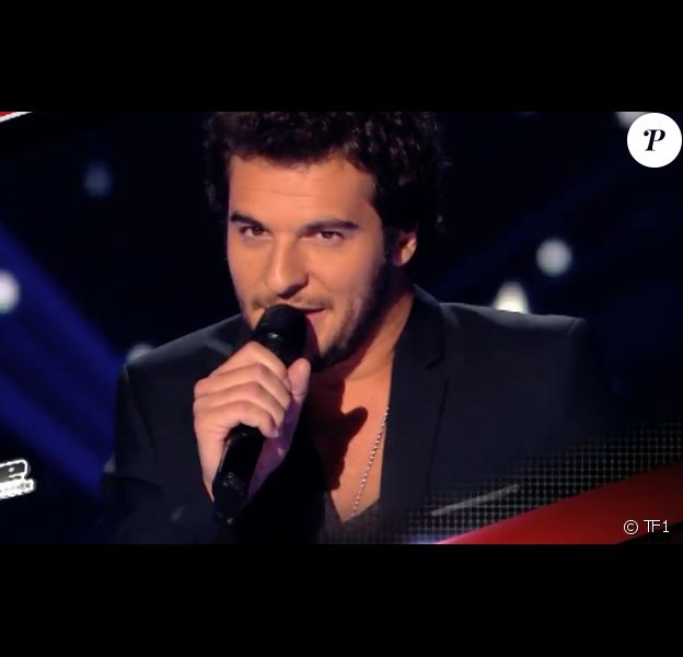 """Amir dans """"The Voice 3"""", samedi 8 mars 2014 sur TF1."""