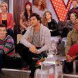 """Le jeune Amir dans """"The Voice 3"""", samedi 8 mars 2014 sur TF1."""