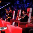 """Amir a étonné dans Jenifer dans """"The Voice 3"""", samedi 8 mars 2014 sur TF1."""